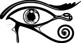 Plagues Of Egypt Eye Coloring Page