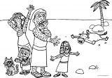 Plagues Of Egypt Ill Coloring Page