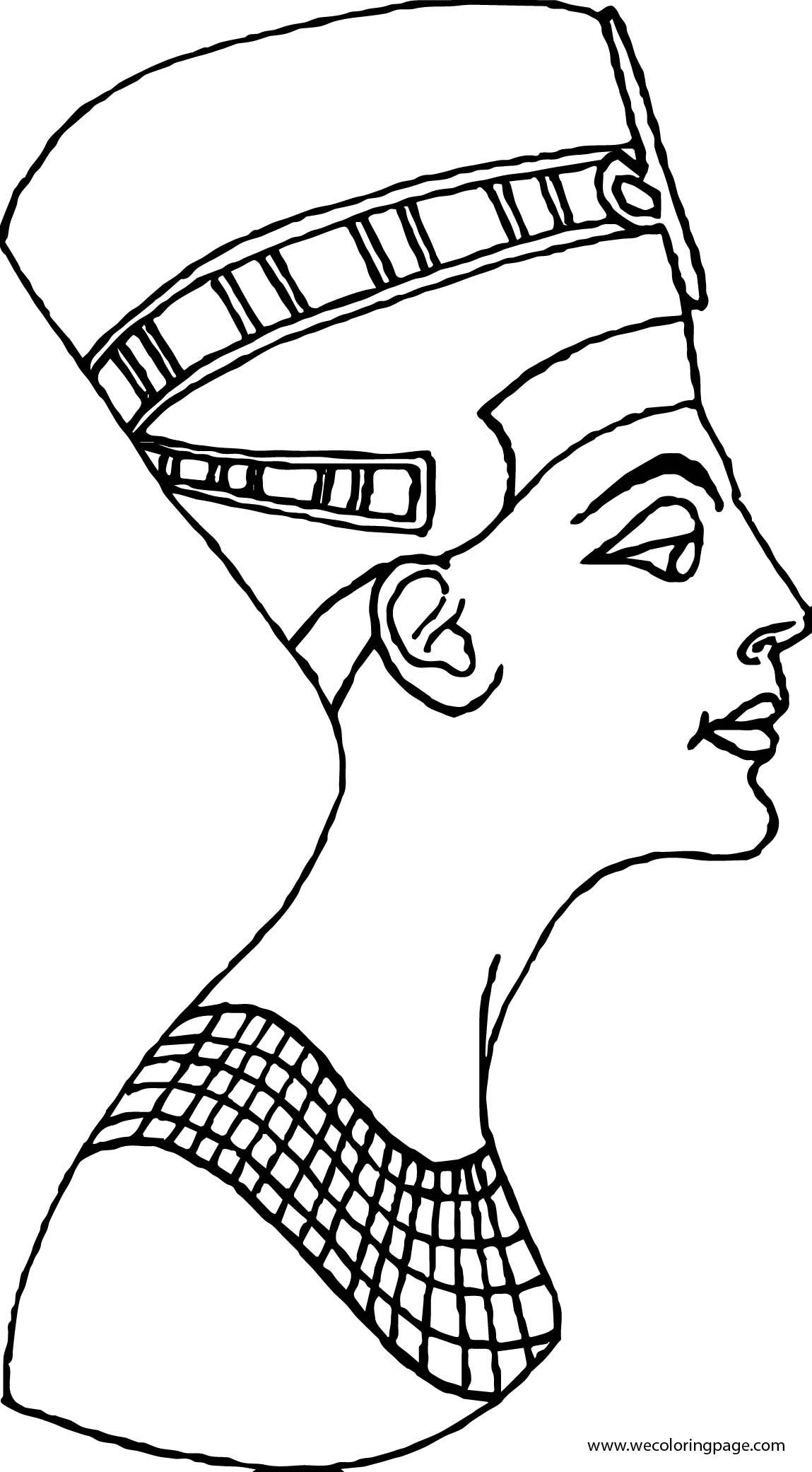 Plagues Of Egypt Side Face Coloring Page