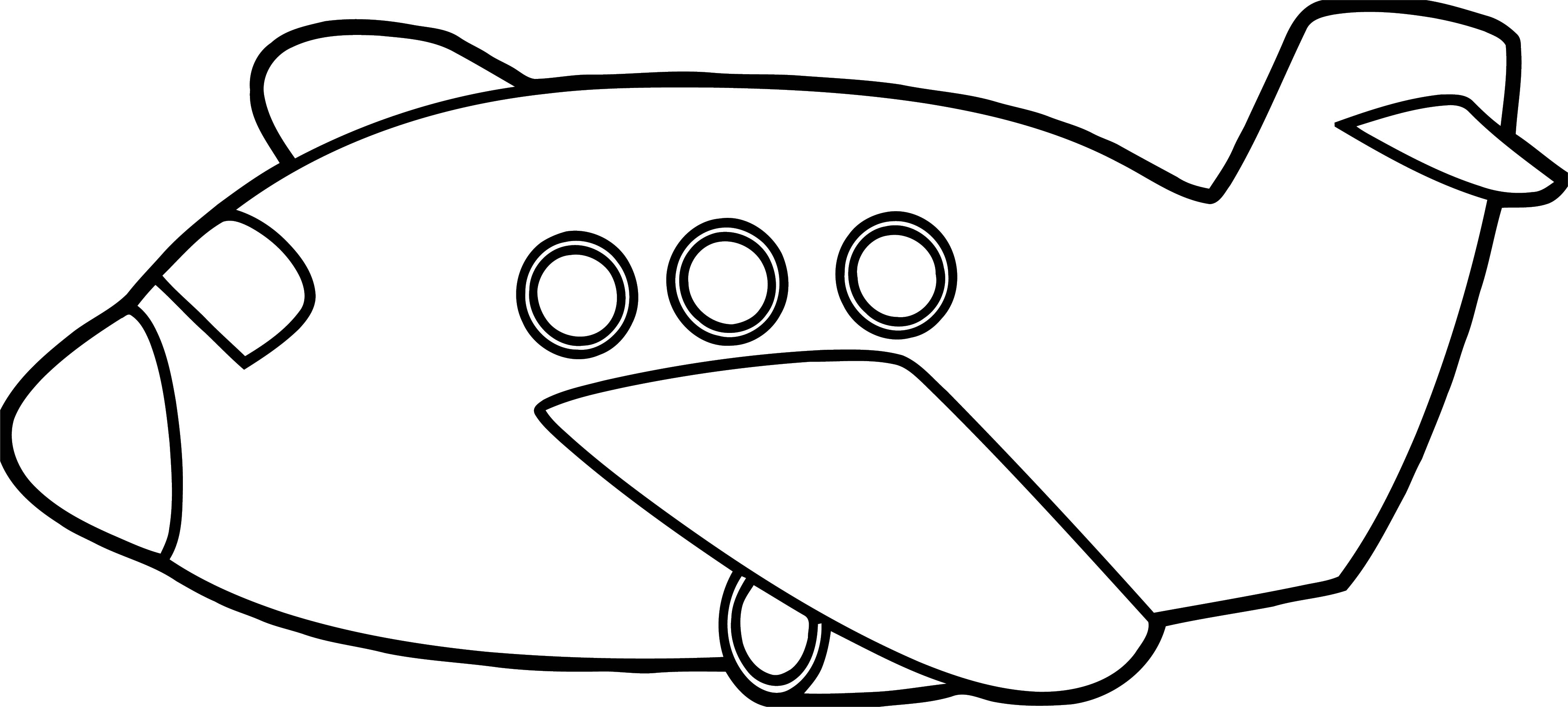 Plane We Coloring Page 15