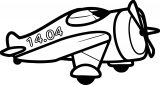 Plane We Coloring Page 18