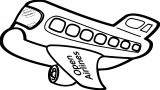 Plane We Coloring Page 40