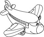 Plane We Coloring Page 41