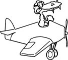Plane We Coloring Page 47