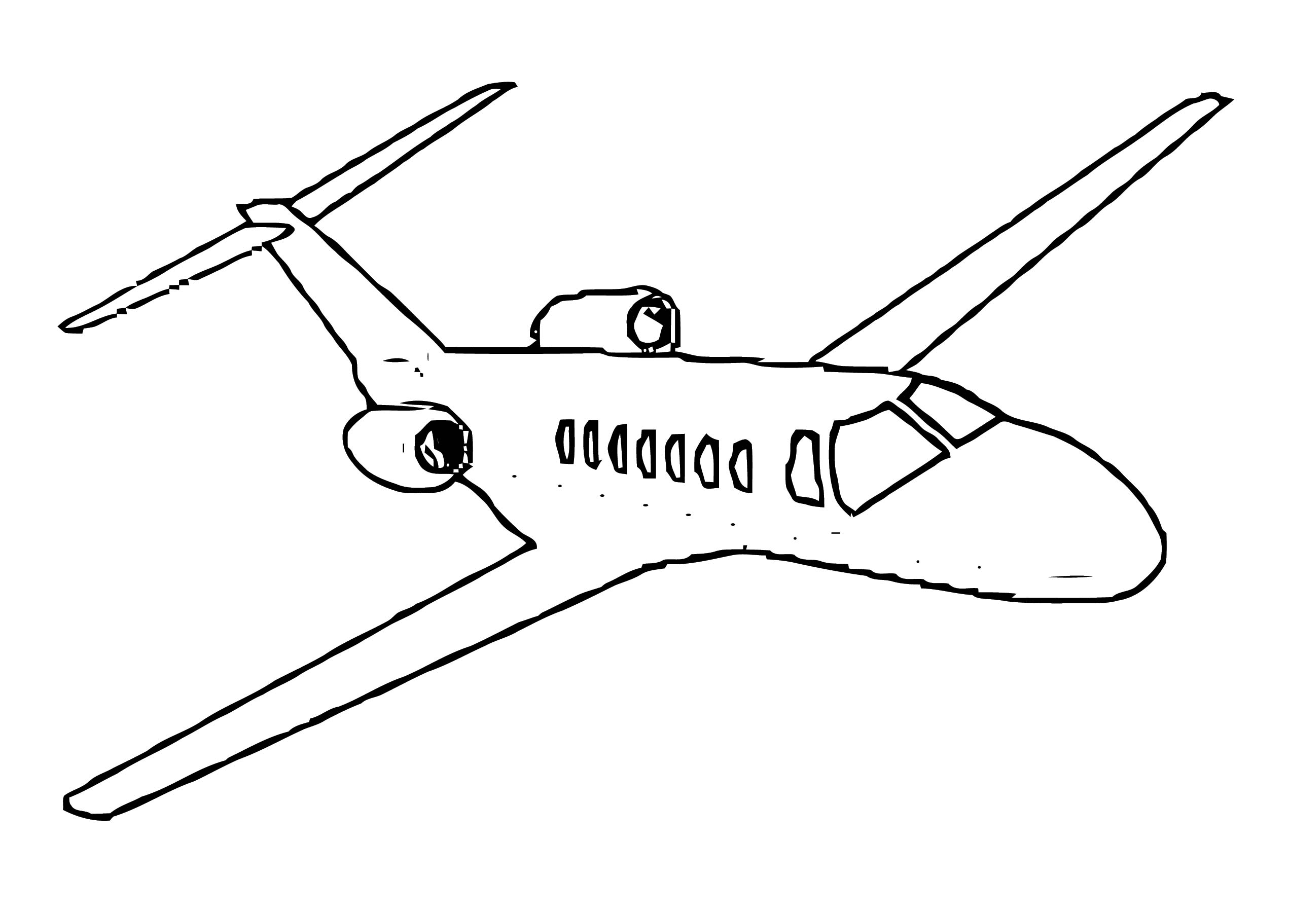 Plane We Coloring Page 50