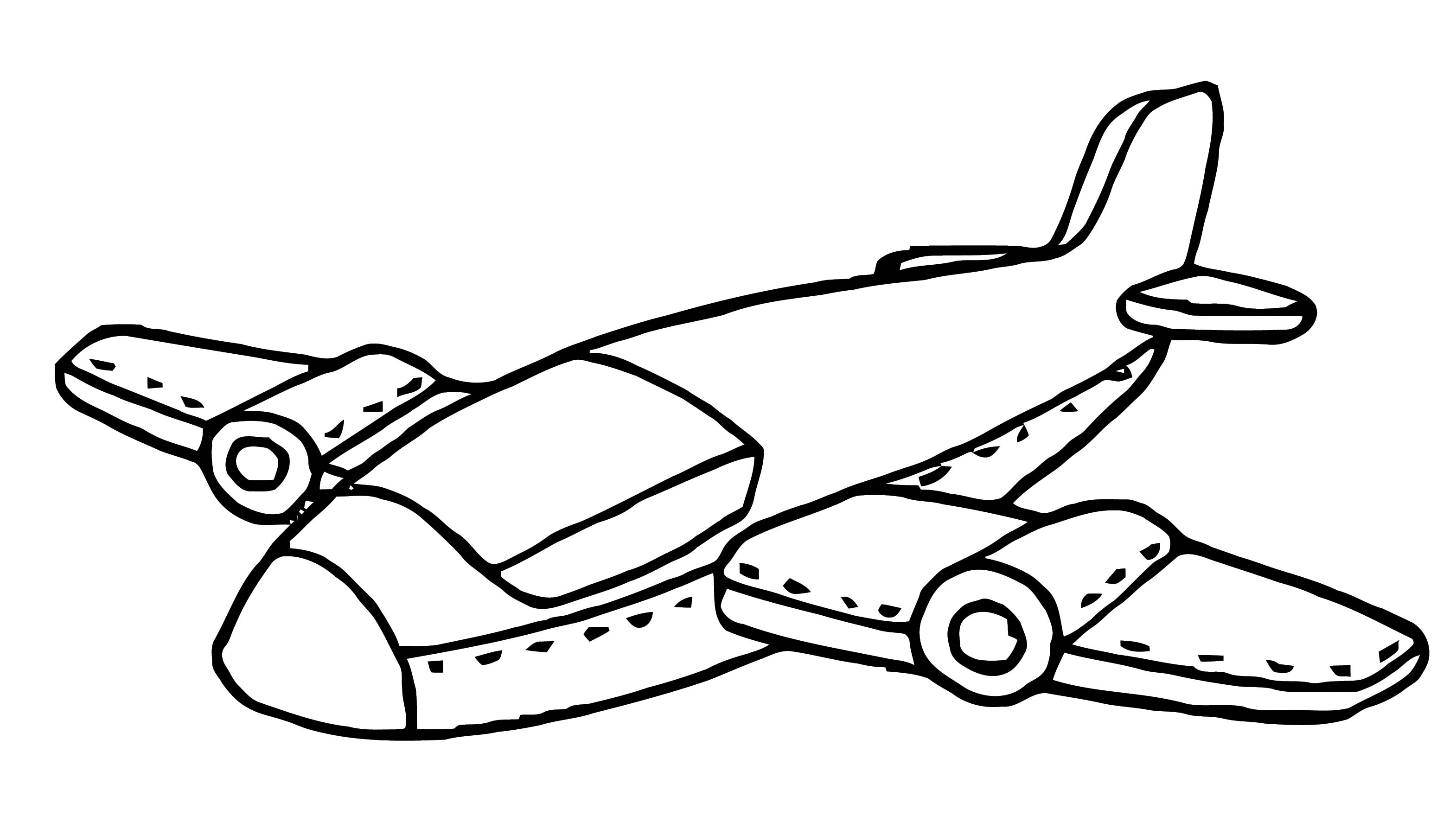 Plane We Coloring Page 54