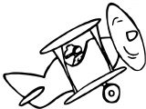Plane We Coloring Page 59