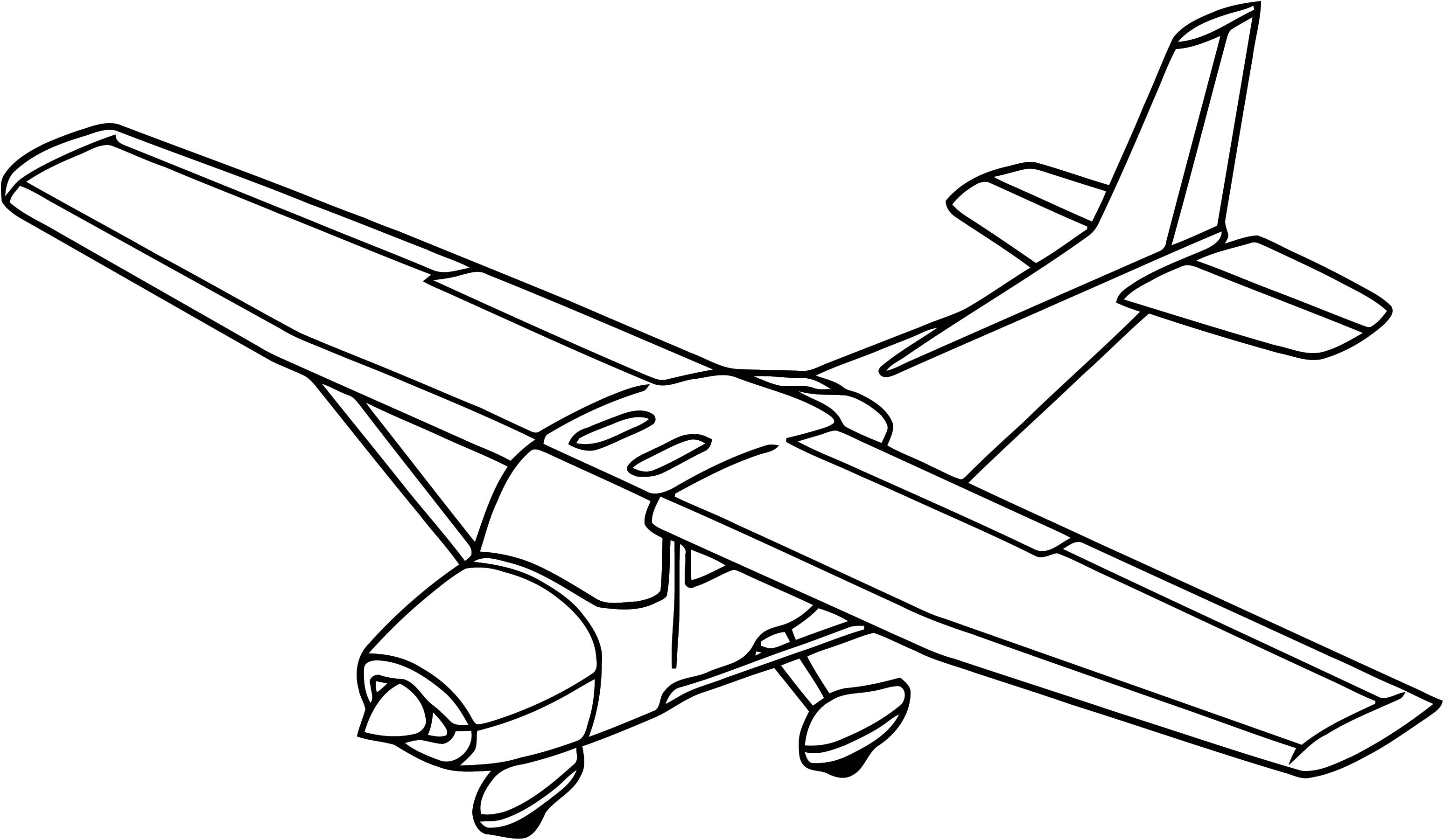 Plane We Coloring Page 67
