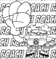 Roach Coloring Page