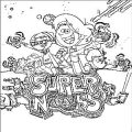 Super Noobs Ball Coloring Page