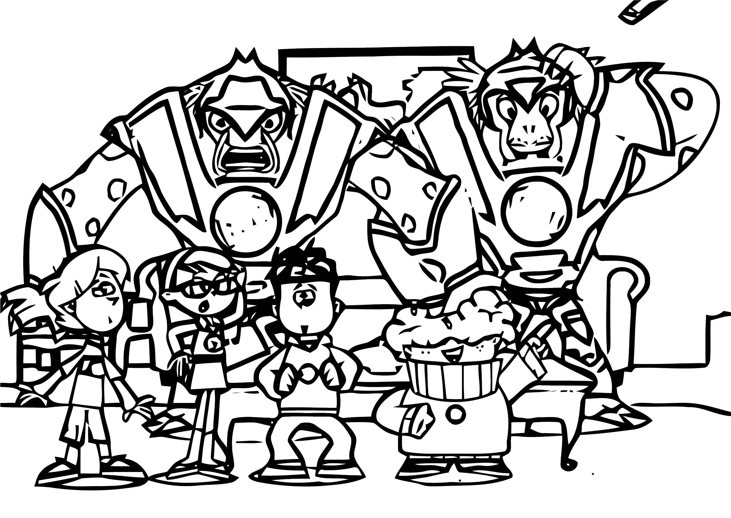Supernoobs Coloring Page 21