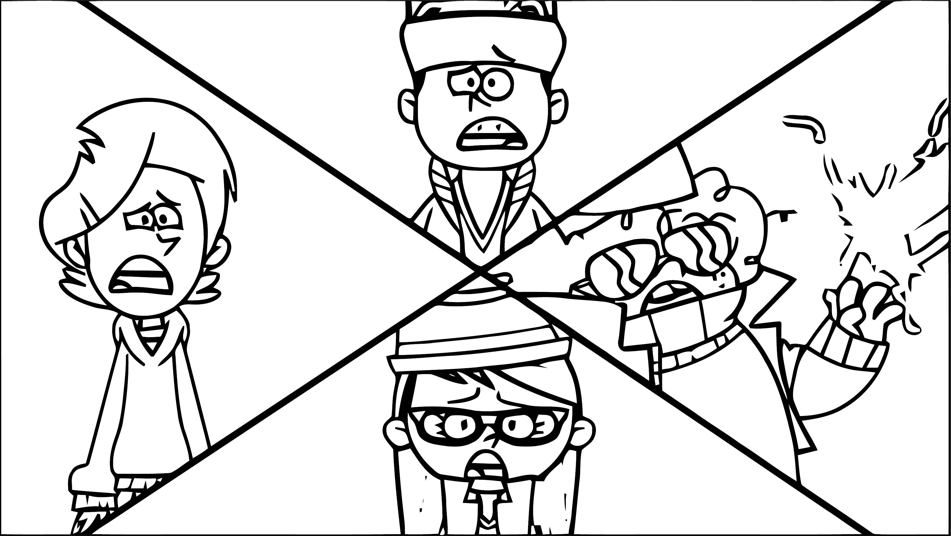 Supernoobs Coloring Page 36