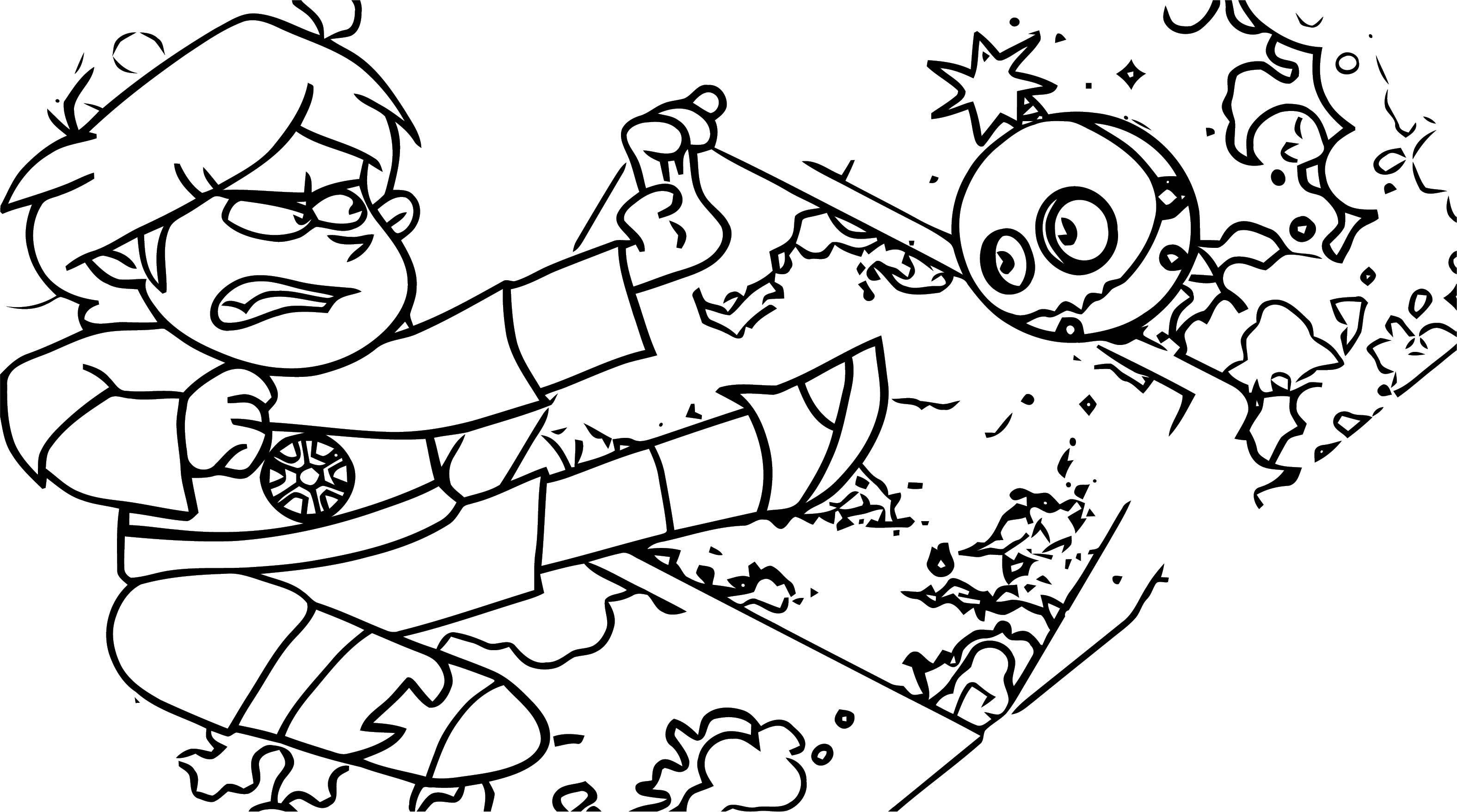 Supernoobs Coloring Page 40