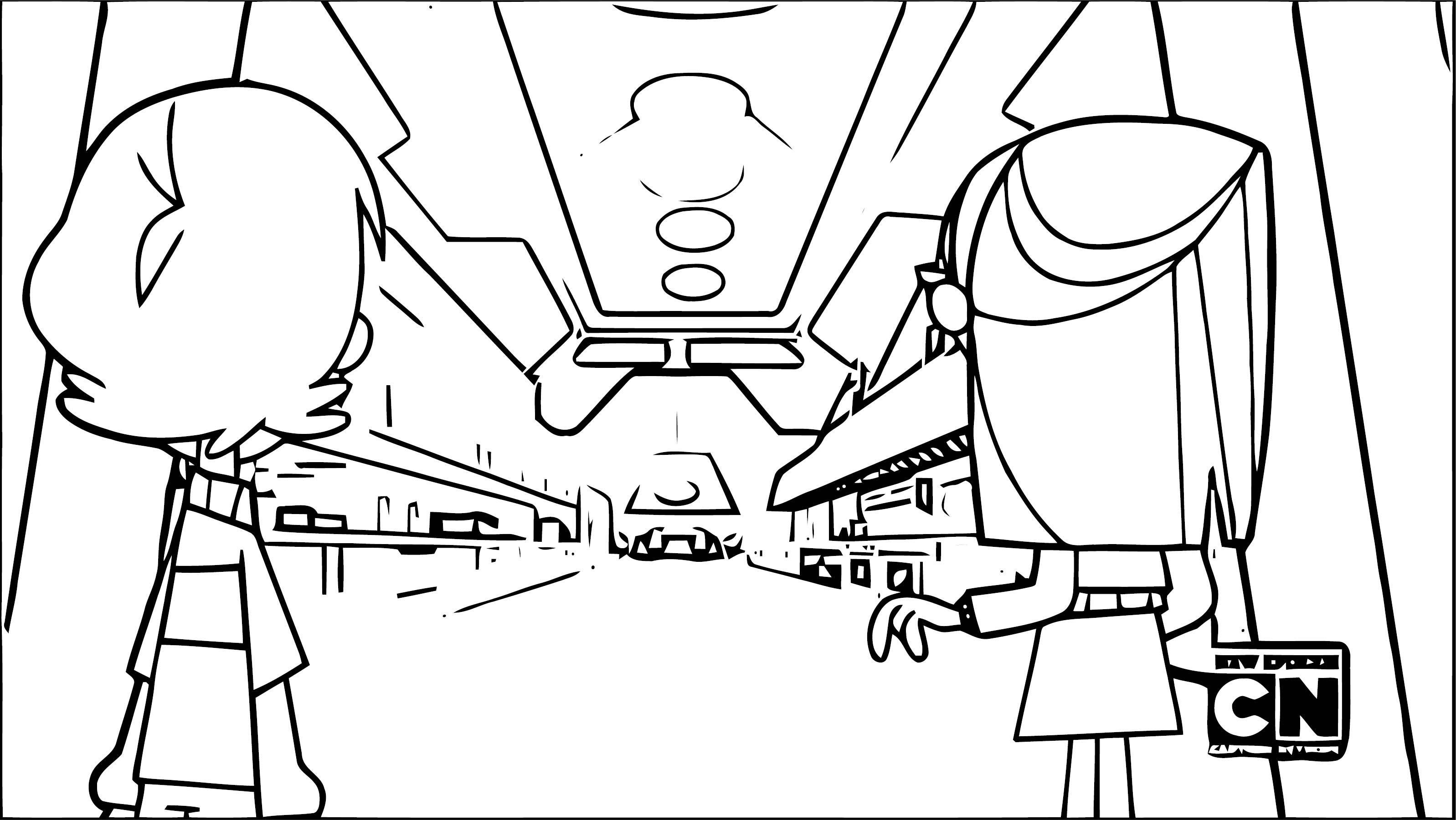 Supernoobs Coloring Page 48