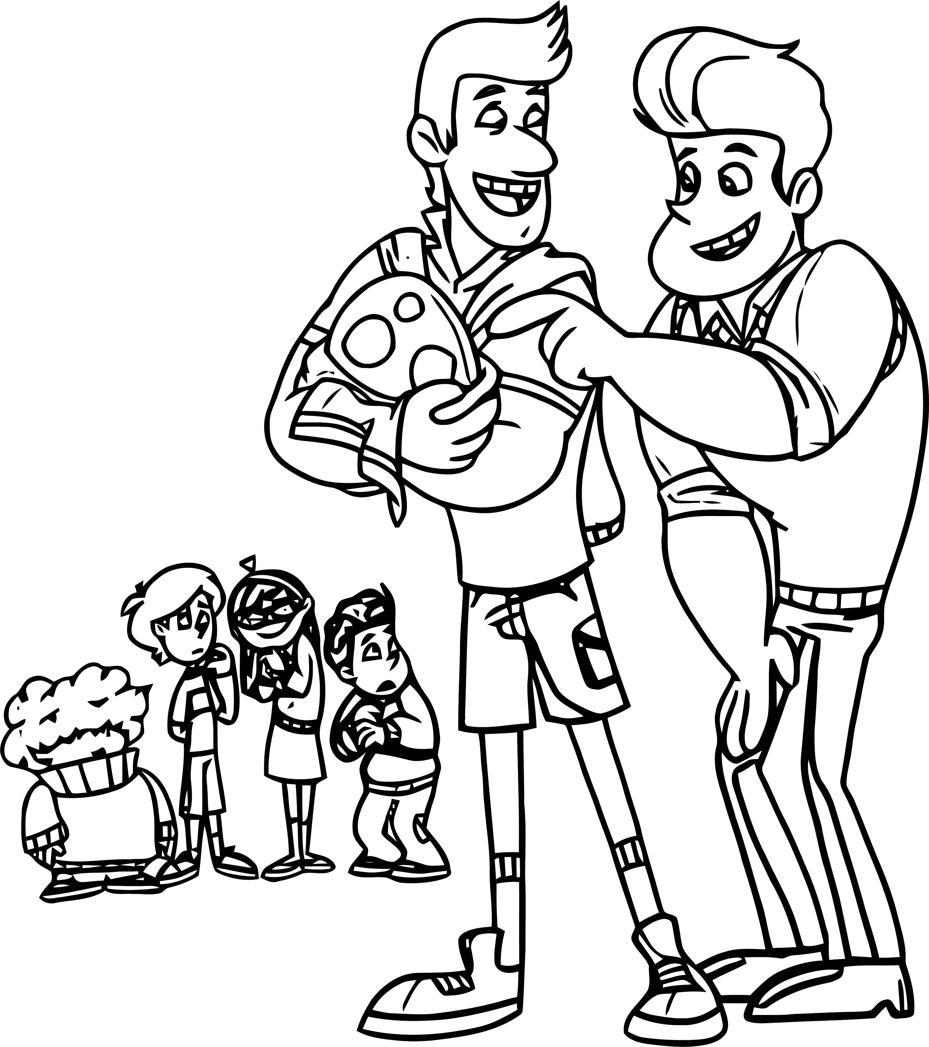Supernoobs Coloring Page 51