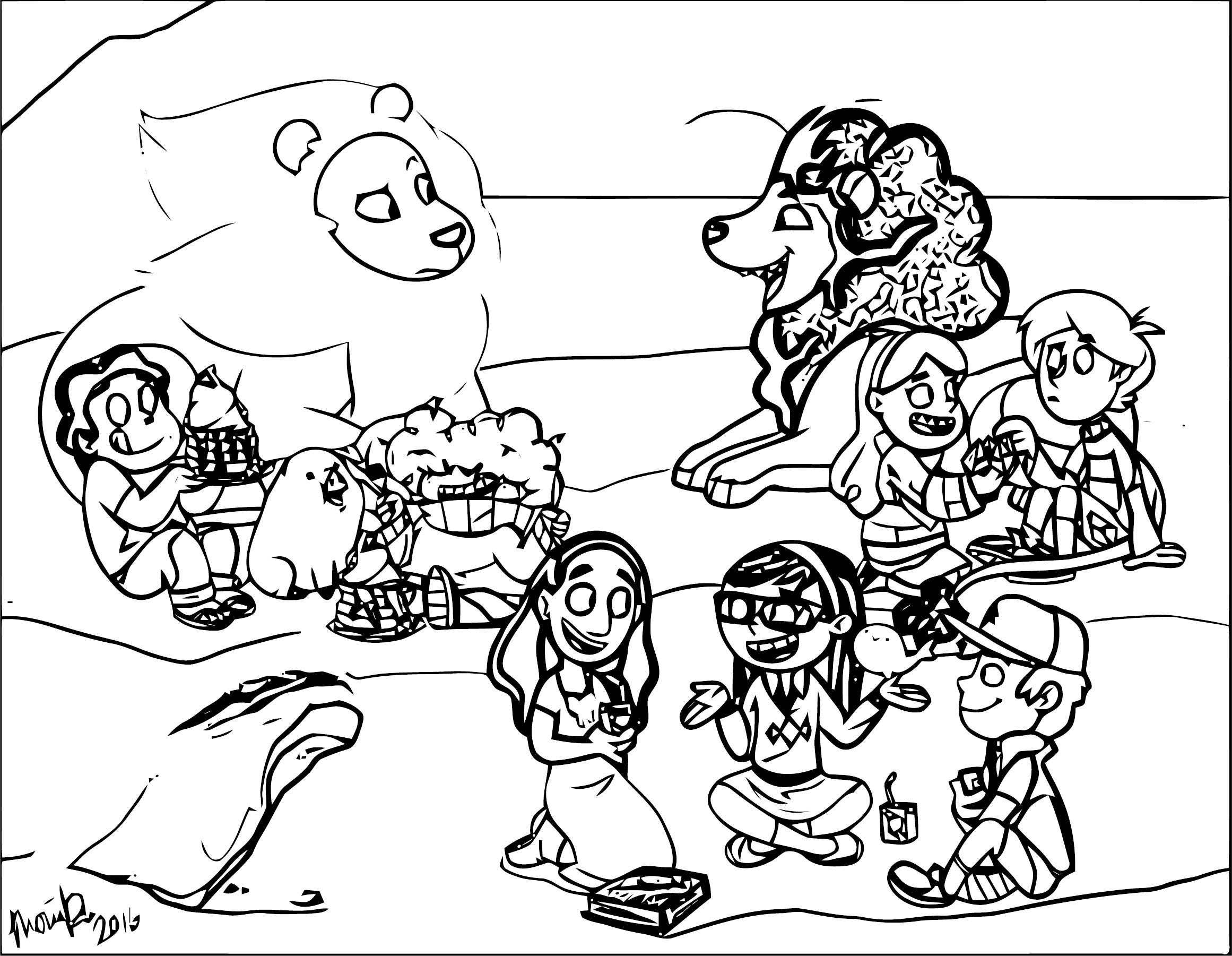 Supernoobs Coloring Page 52