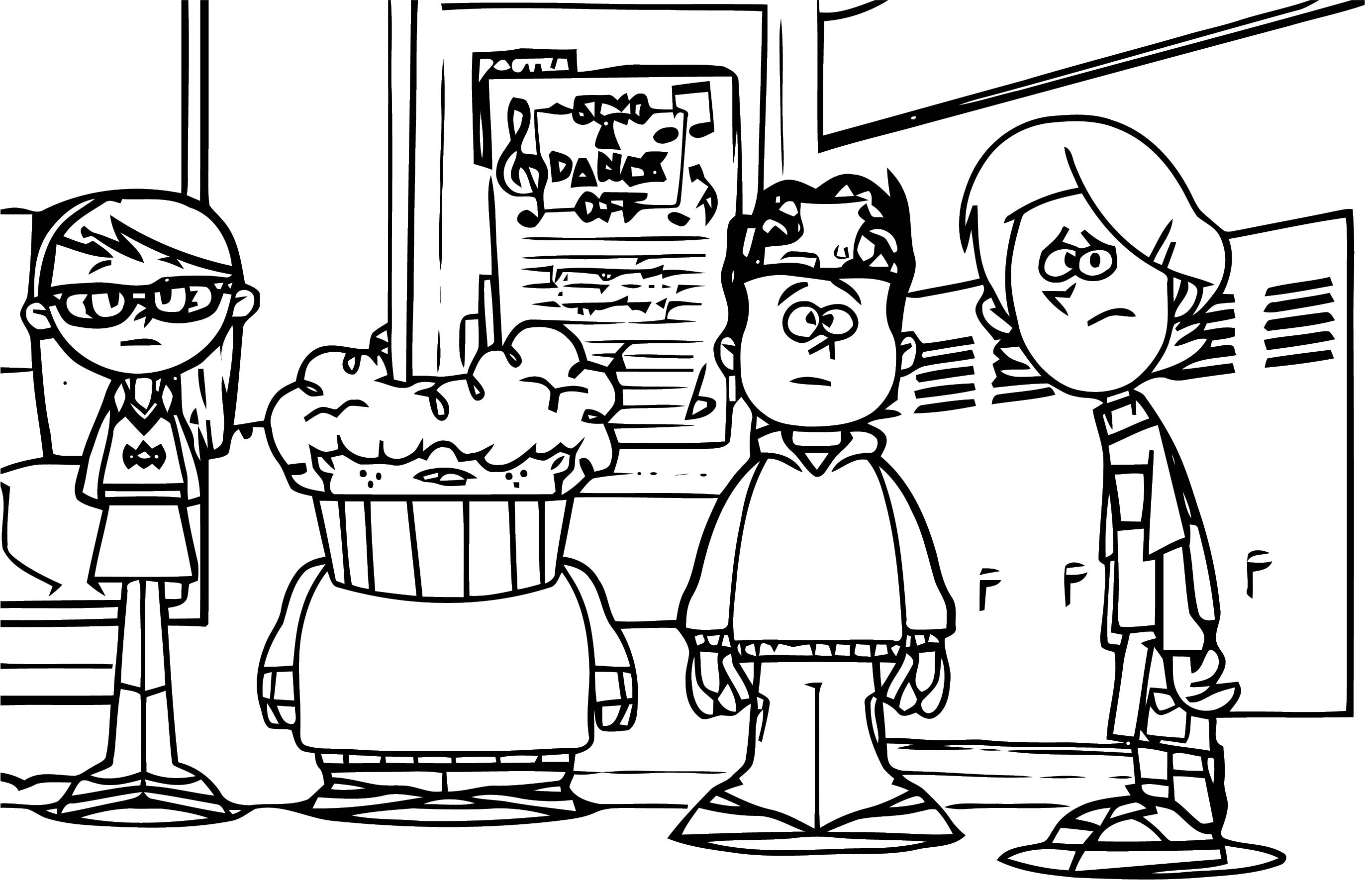 Supernoobs Coloring Page 57
