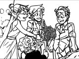 Supernoobs Wedding Flower Coloring Page