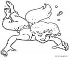 The Little Mermaid Ariels Beginning Coloring Pages 38