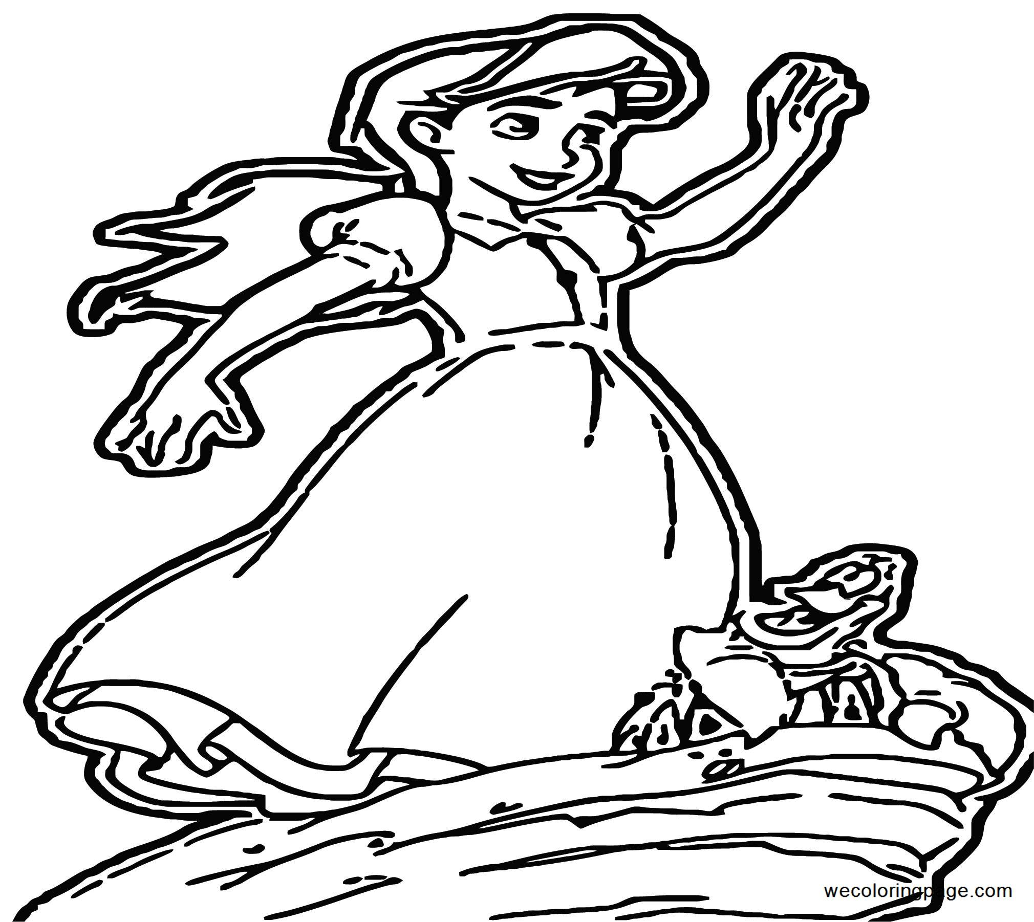 The Little Mermaid Ariels Beginning Coloring Pages 42 ...