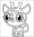 Willow Hq Deer Coloring Page