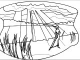Art Mirages Landscape Coloring Page 2