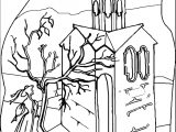Art Mirages Landscape Coloring Page 9