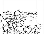 Art Momnatur Landscape Coloring Page
