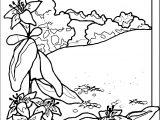 Art Momnatur Landscape Coloring Page 4