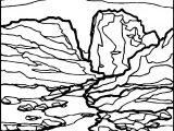 Artnature Landscape Coloring Page 4