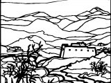 Artnature Landscape Coloring Page 5
