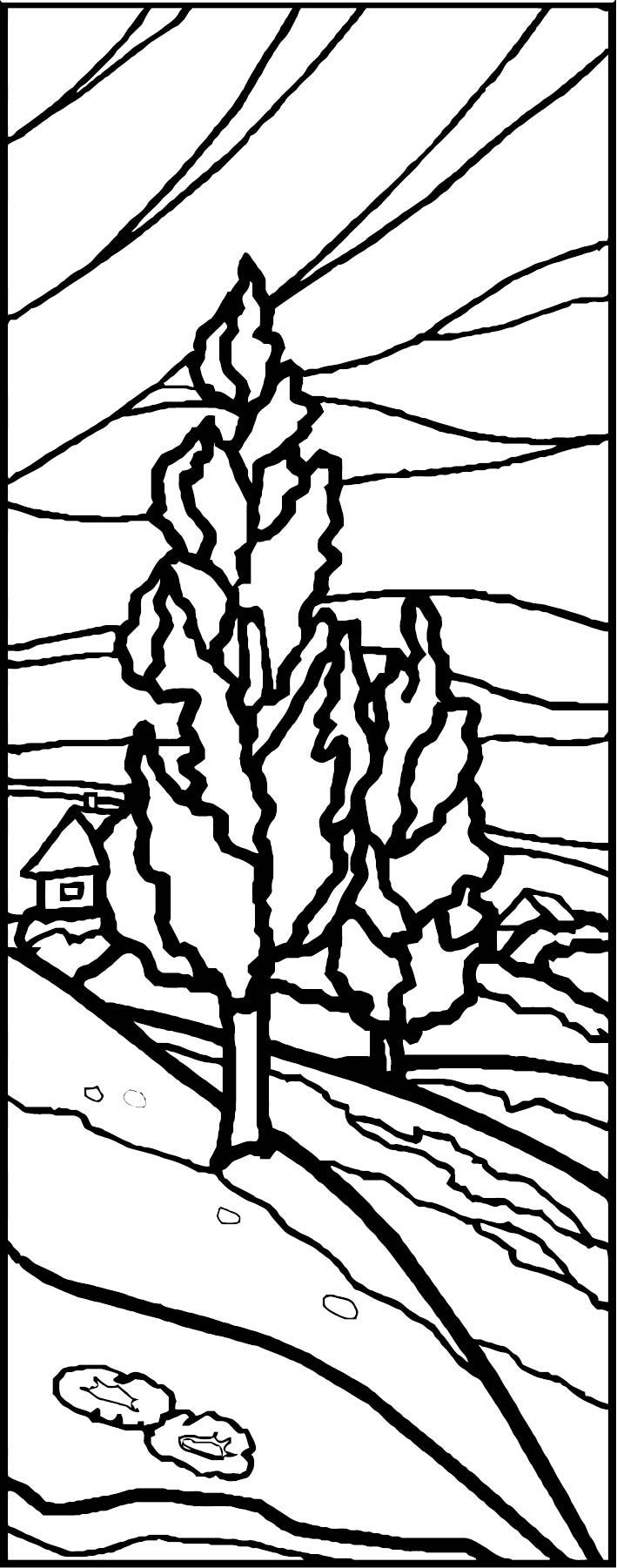 Artnature Landscape Coloring Page 6