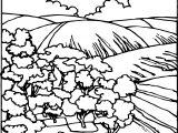 Artnature Landscape Coloring Page 7