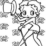 Betty Boop We Coloring Page 024