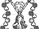 Betty Boop We Coloring Page 15