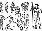 Character Design Fai Kong Coloring Page
