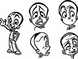 Character Design Sheet For A Cartoon Ish Style Ad Elementaledge Coloring Page
