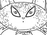 Character Designs Cat Cartoonized Coloring Page