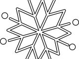 Christmas Snow Just Coloring Page