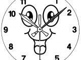 Clock Coloring Page WeColoringPage 035