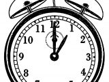 Clock Coloring Page WeColoringPage 038