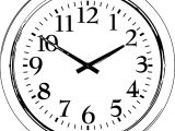 Clock Coloring Page WeColoringPage 063