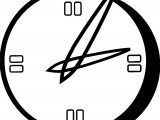 Clock Coloring Page WeColoringPage 086