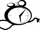 Clock Coloring Page WeColoringPage 111