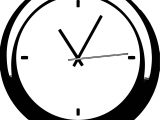 Clock Coloring Page WeColoringPage 115