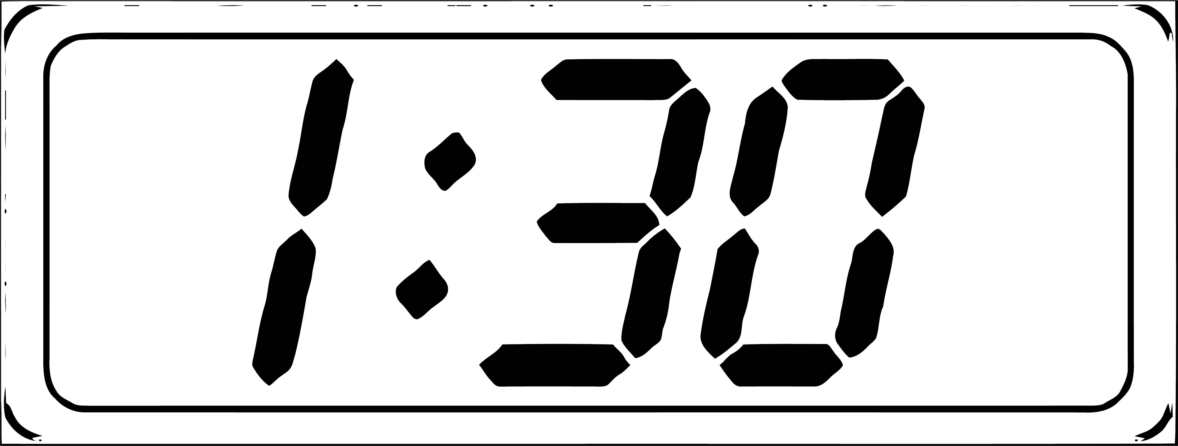 Clock Coloring Page WeColoringPage 119