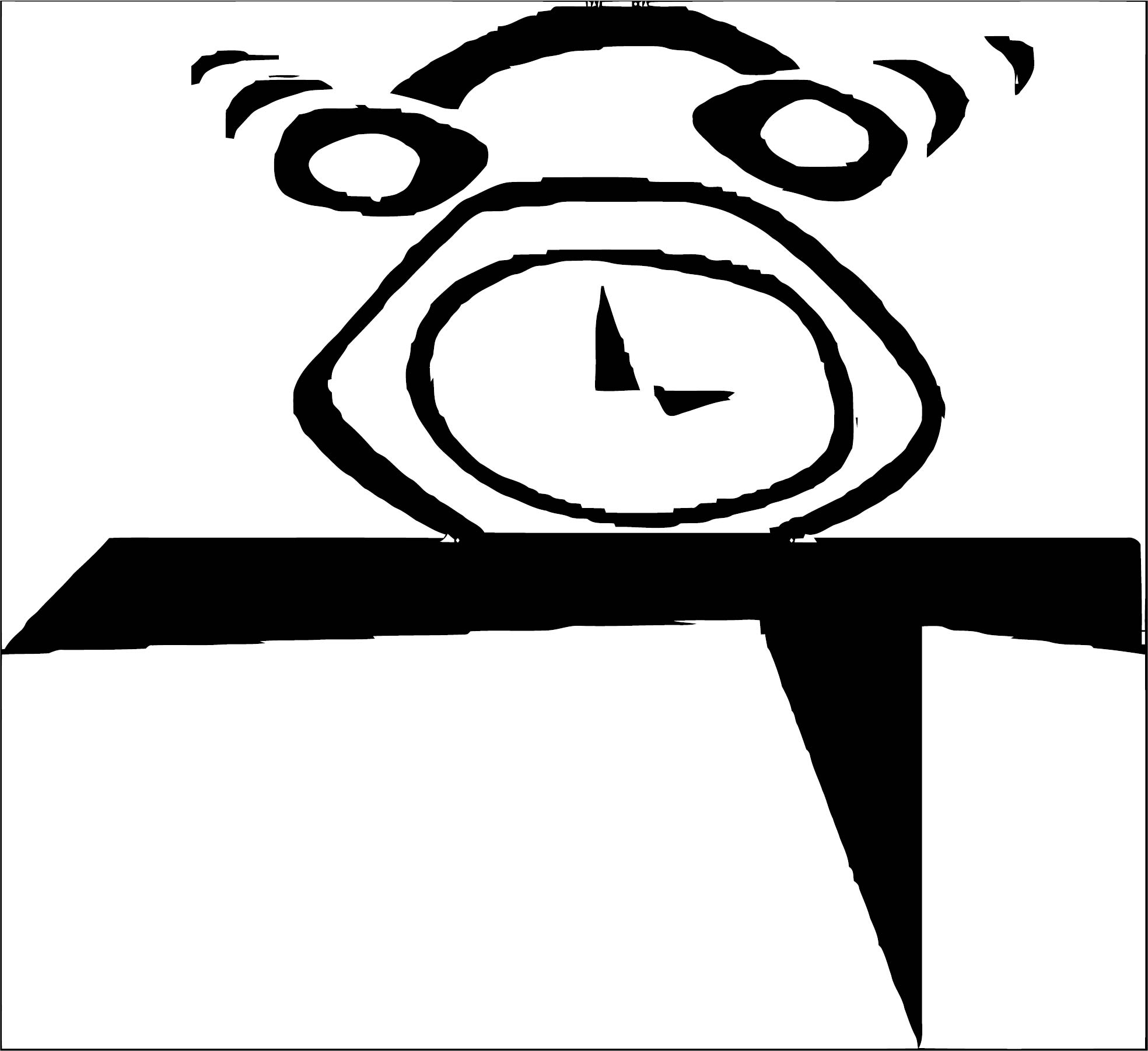 Clock Coloring Page WeColoringPage 120