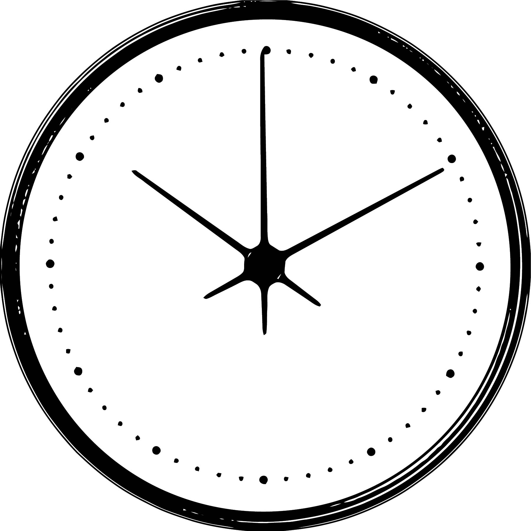 Clock Coloring Page WeColoringPage 131