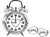 Clock Coloring Page WeColoringPage 152