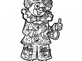 Clown Coloring Page WeColoringPage 043